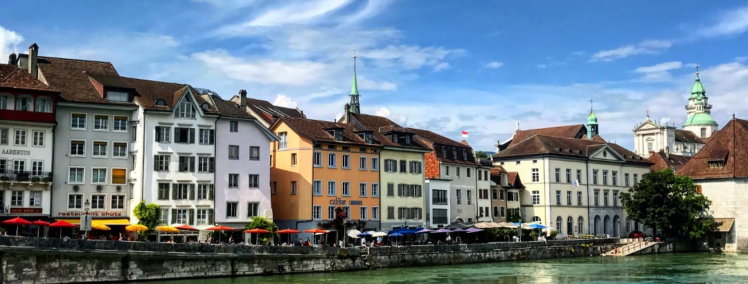 An der Aare in Solothurn.