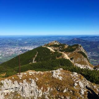 Aussicht vom Salzburger Hochthron