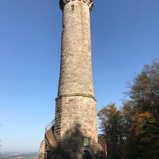Humbergturm -groß und mächtig