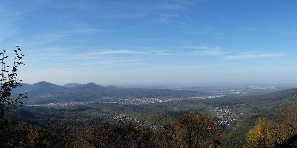 Bernsteinfelsen Panorama