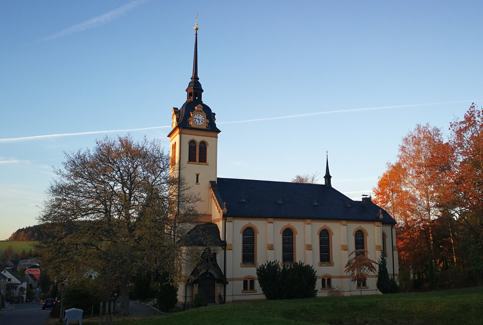 Kirche in Börnichen