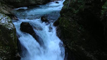 die Wildheit des Radovna-Flusses