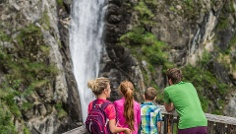 Family Hike to the Klammbach waterfall