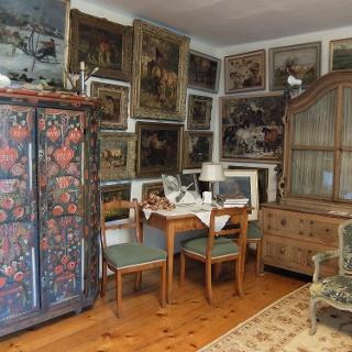 Blick ins original erhaltene Künsteratelier