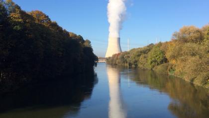 start am atomkraftwerk, elektrisiert