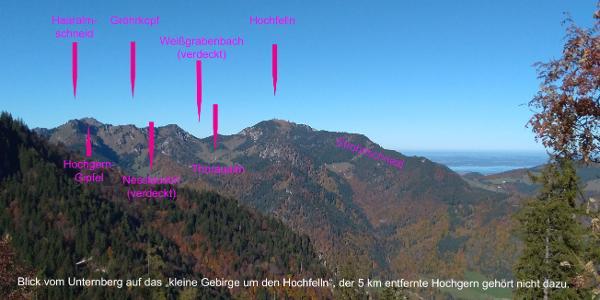 Vorschau/Überblick vom Unternberg über Ruhpolding