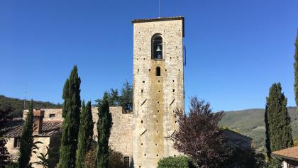 San Giusto church bell tower