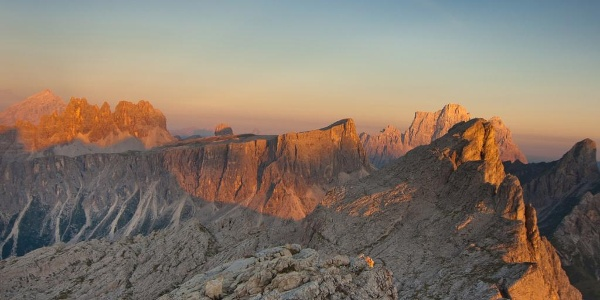 View from Rifugio Nuvolau