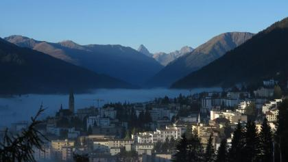 Morgenstimmung in Davos.