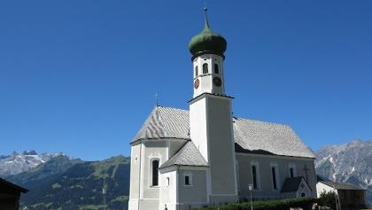 Pfarrkirche auf dem Bartholomäberg.