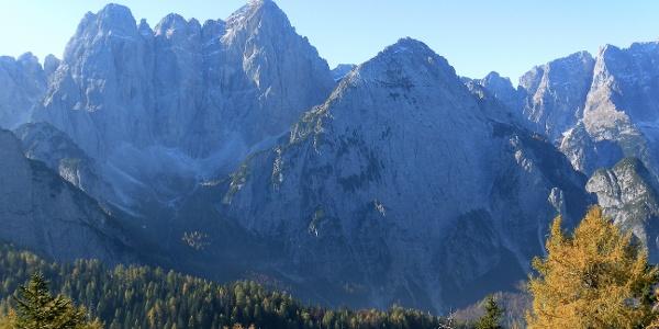 Grande Nabois rechts vor dem Wischberg