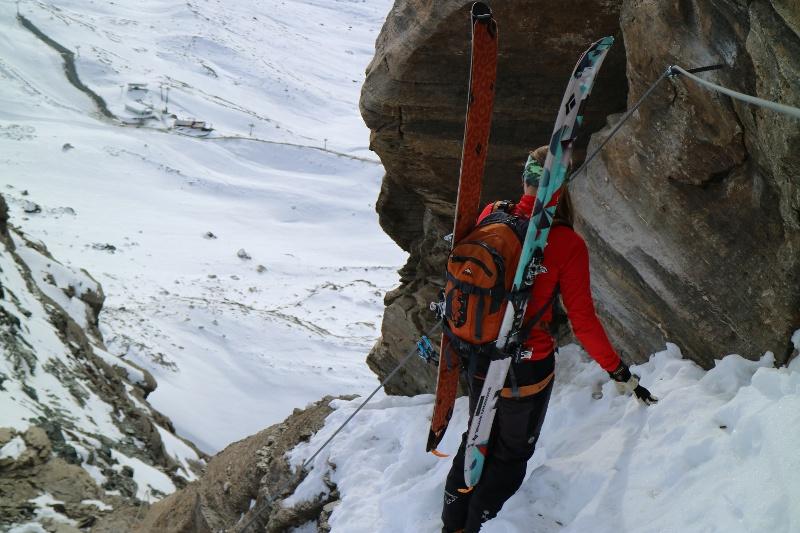 Klettersteig Zermatt : Gornerschlucht klettersteig zermatt gopro youtube