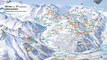 Pistenpanorama Mayrhofen