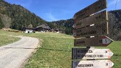 Wanderung: Niederrasen - Oberstall - Oberrasen