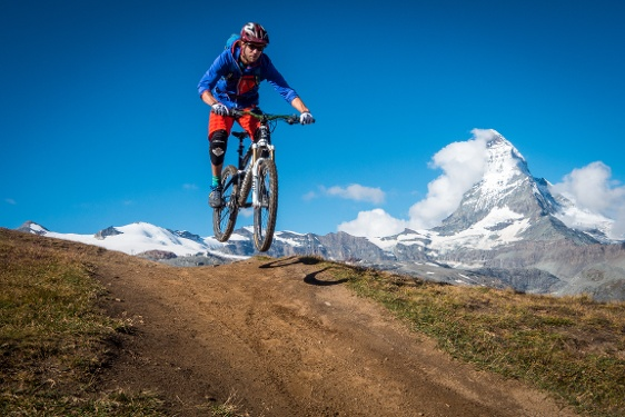Bike-Tour Zermatt - Riffelalp