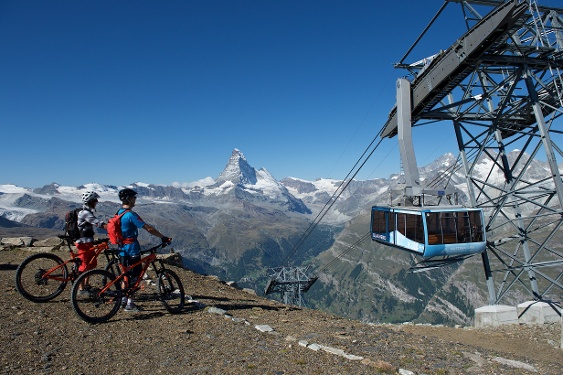Bike-Tour Rothorn - Zermatt