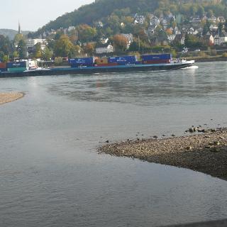 Ahrmündung in den Rhein