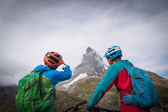 Bike-Tour Schwarzsee - Zermatt