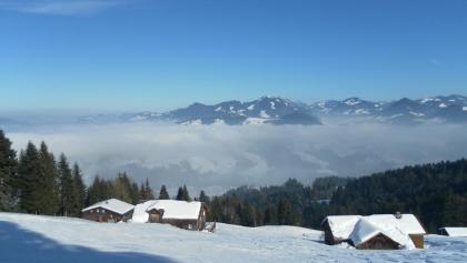 Winterwanderweg auf den Brüggelekopf