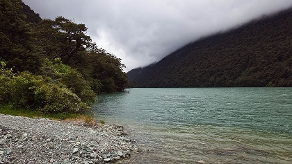 Tiny, but precious: Lake Fergus