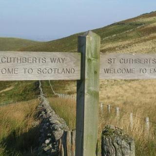 Border between Scotland and England