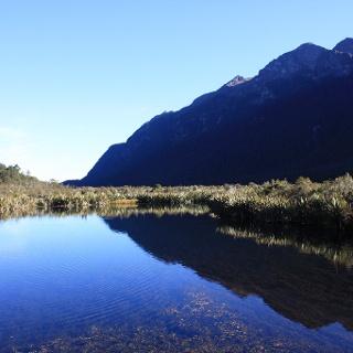 Mirror Lakes, a precious spot of natural beauty