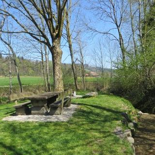 Picknick Platz Breiten an der Enziwigger