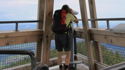 Beste Aussicht vom Eugen-Keidel-Turm.
