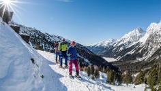 Snowhike: Antholzersee / Lago di Anterselva Lake - Staller Saddle