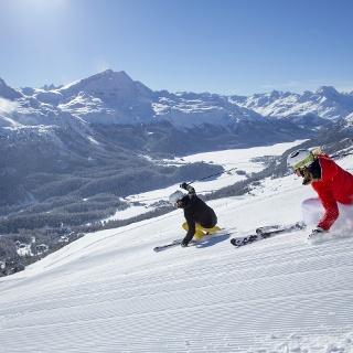 Skigebiet Corviglia