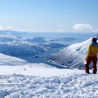 Super Aussicht am Gipfel