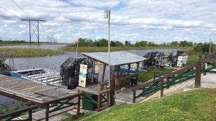Sawgrass recreation park dock