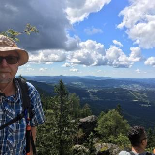 Gipfel Großer Falkenstein
