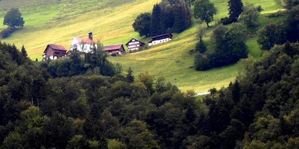 Hächlisberg, Richtung Wiesenberg, Dallenwil, Nidwalden