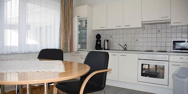 Wohnküche, völlig ausgestattet
