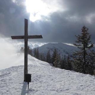 Der Gipfel des Gscheideggkogel (1788 m) II