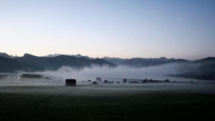 Nebelstimmung am Sihlsee