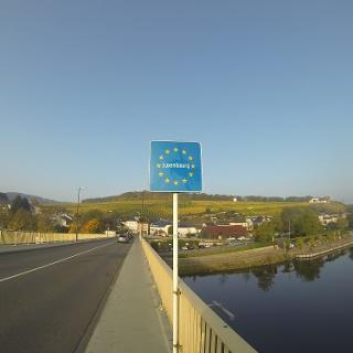 Brücke Perl/Schengen