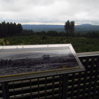 Blick vom Aussichtsturm Kramerod