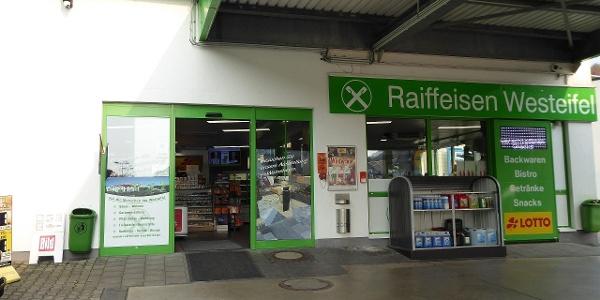 Raiffeisen Westeifel Tankstelle, Shop, Markt