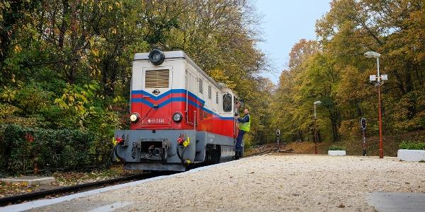 Kindereisenbahn (Hűvösvöly Station)