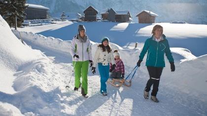 Familienwanderung Sonnleiten Abtenau