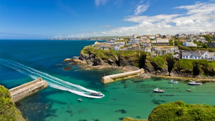 Port Isaac Cove and Harbour