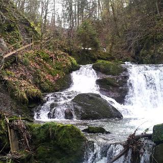 Die Brühlbachwasserfälle