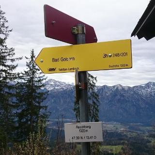 Raschberg vor der Hütte