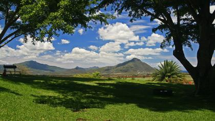 Mountains of South-West Mauritius