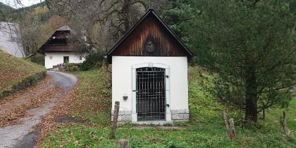 Gehöft Hofbauer: Kapelle von außen