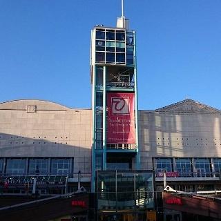 Mannheim, Theater Oststadt, Aussenansicht N 1