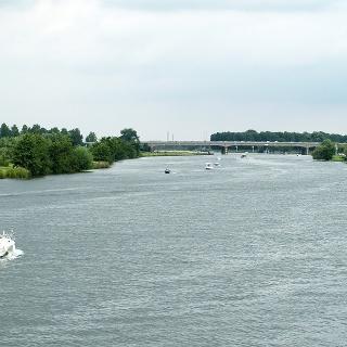 Maas und Maasplassen bei Roermond