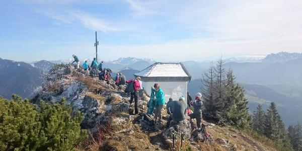 Gipfel des Spitzsteins